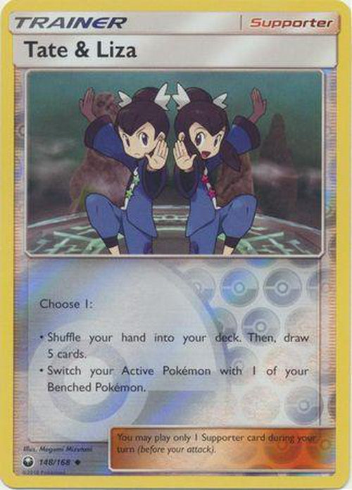 Tate & Liza - 148/168 - Uncommon Reverse Holo-Cherry Collectables