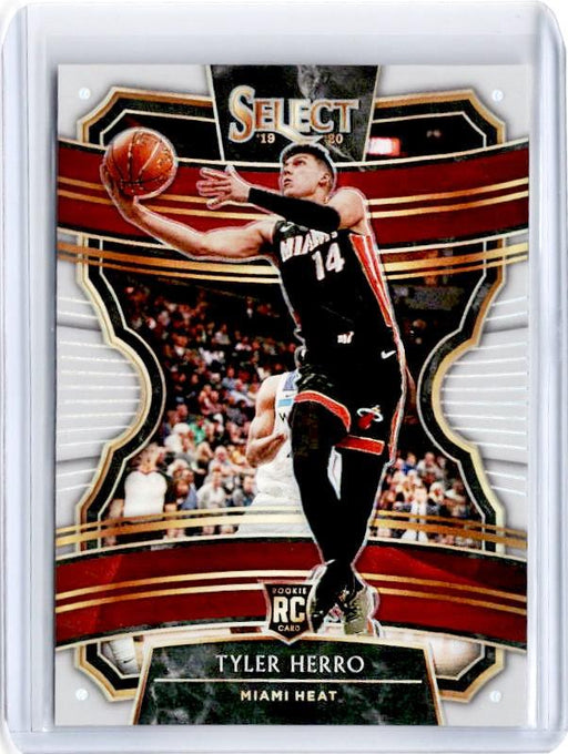 2019-20 Select TYLER HERRO White Prizm Rookie /149 #63-Cherry Collectables