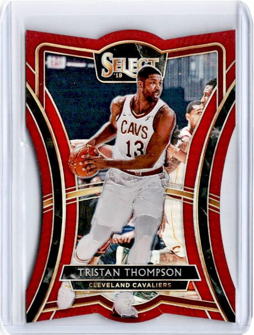 2019-20 Select TRISATAN THOMPSON Red Prizm /175 Die Cut #159-Cherry Collectables