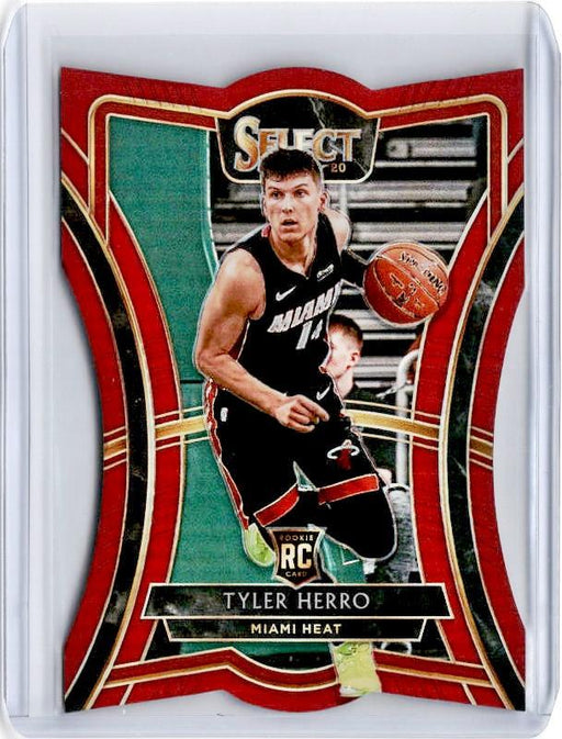 2019-20 Select TYLER HERRO Red Prizm Rookie /175 Die Cut #169-Cherry Collectables