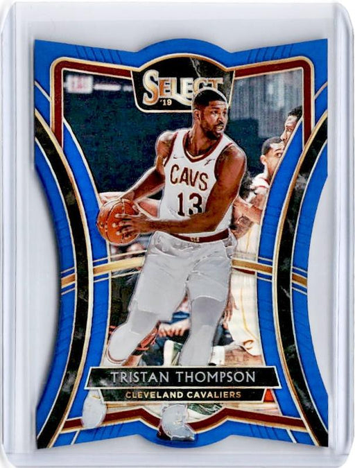2019-20 Select TRISTAN THOMPSON Blue Prizm /249 Die Cut #159-Cherry Collectables