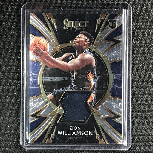 2019-20 Select ZION WILLIAMSON Sparks Rookie Jersey #ZWL-Cherry Collectables