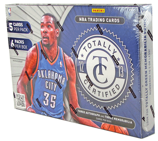 2012/13 Panini Totally Certified Basketball Hobby Box-Cherry Collectables