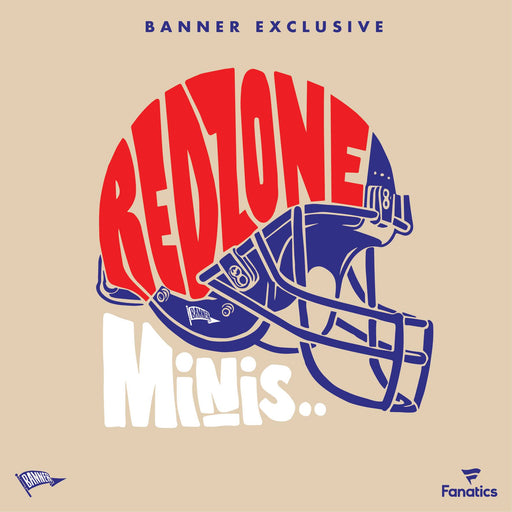 2020 Banner Redzone Minis - Authentic Fanatics Autographed Mini-Helmet Mystery Box-Cherry Collectables