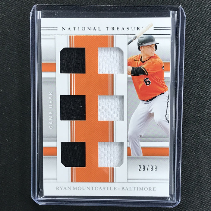 2020 National Treasures RYAN MOUNTCASTLE Game Gear 8x Patch 29/99-Cherry Collectables