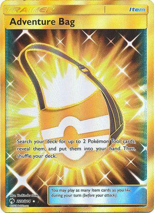 Adventure Bag - 228/214 - Secret Rare - Lost Thunder-Cherry Collectables