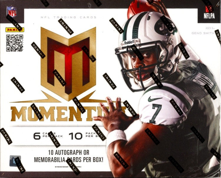 2013 Panini Momentum Football Hobby Box-Cherry Collectables