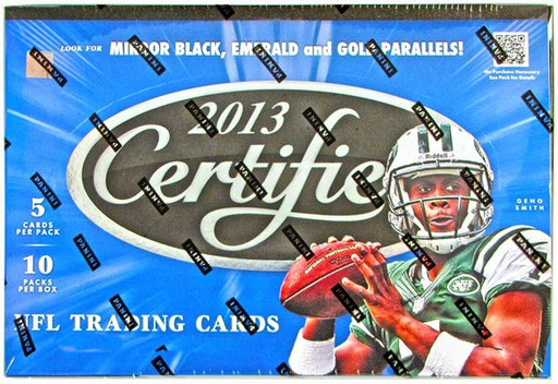 2013 Certified Football Hobby Box-Cherry Collectables