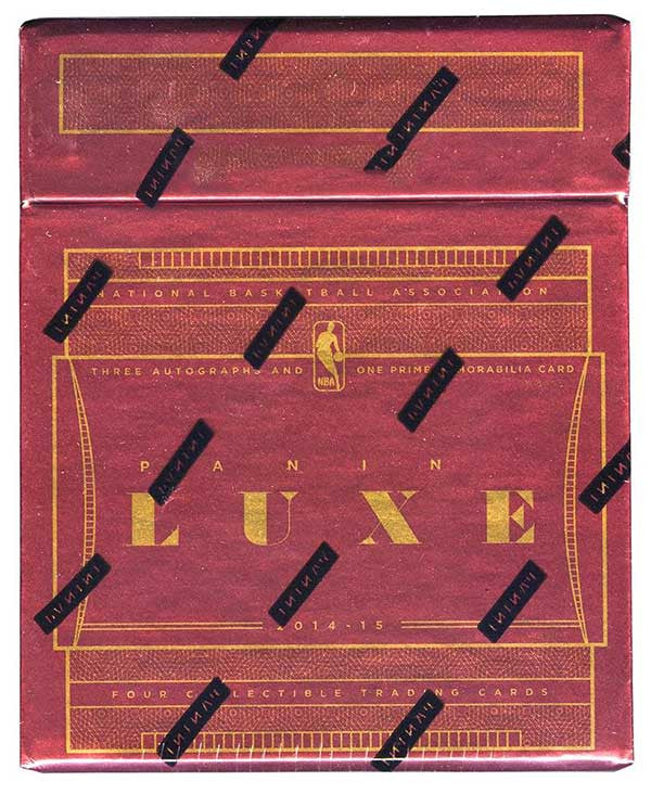 2014/15 Panini Luxe Basketball Hobby Box-Cherry Collectables