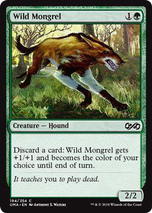 Wild Mongrel 194/254 - UMA-Cherry Collectables