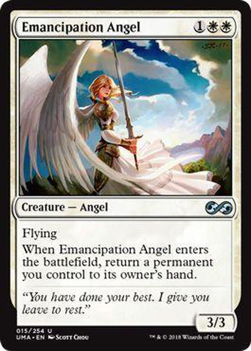 Emancipation Angel 015/254 - UMA-Cherry Collectables