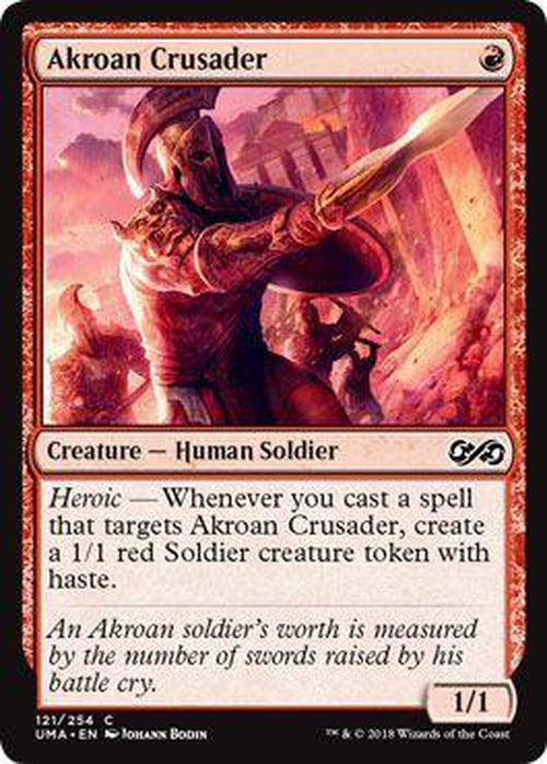 Akroan Crusader 121/254 - UMA-Cherry Collectables