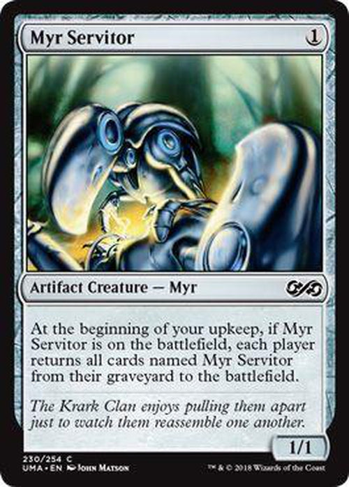 Myr Servitor 230/254 - UMA-Cherry Collectables