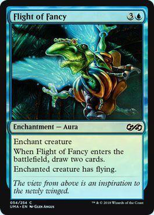 Flight of Fancy 054/254 - UMA - Foil-Cherry Collectables