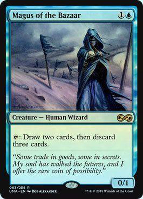 Magus of the Bazaar 063/254 - UMA - Foil-Cherry Collectables