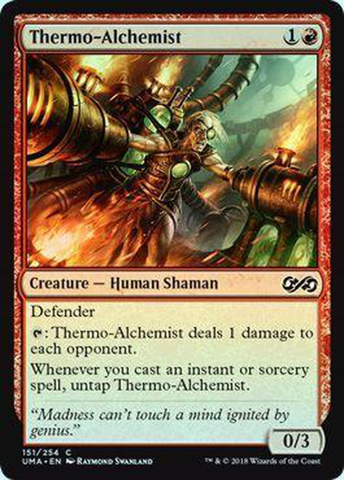 Thermo-Alchemist 151/254 - UMA - Foil-Cherry Collectables