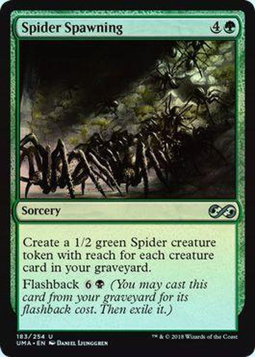 Spider Spawning 183/254 - UMA - Foil-Cherry Collectables