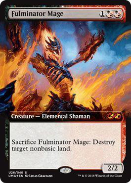 Fulminator Mage U26/040 - Foil-Cherry Collectables