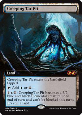 Creeping Tar Pit U34/040 - Foil-Cherry Collectables