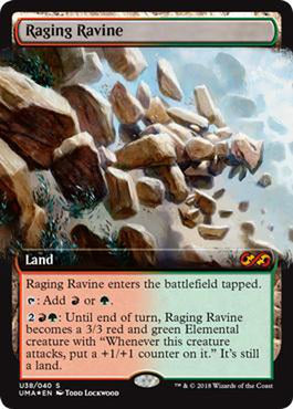 Raging Ravine U38/040 - Foil-Cherry Collectables