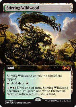 Stirring Wildwood U39/040 - Foil-Cherry Collectables
