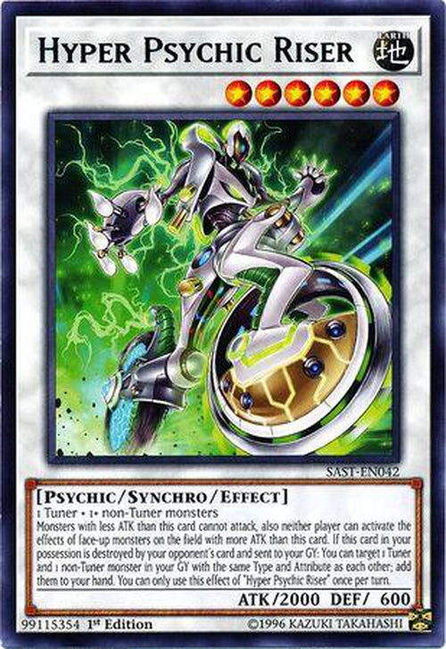 Hyper Psychic Riser - SAST-EN000 - Rare 1st Edition-Cherry Collectables