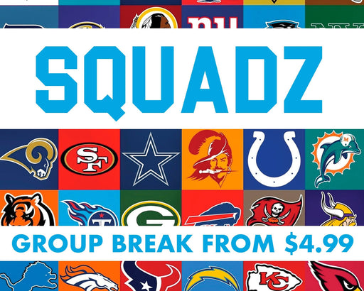 Squadz - Multi-Year NFL Team Based Break #2411 - Mar 03 (5pm)-Cherry Collectables