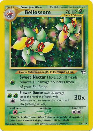 Bellossom - 3/111 - Holo Unlimited