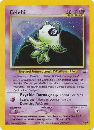 Celebi - 3/64 - Holo Unlimited