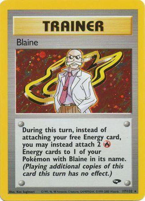 Blaine - 17/132 - Holo Unlimited