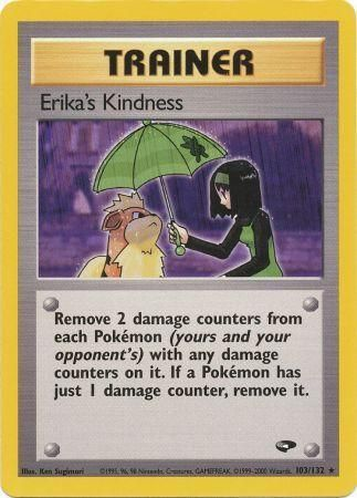 Erika's Kindness - 103/132 - Rare Unlimited-Cherry Collectables