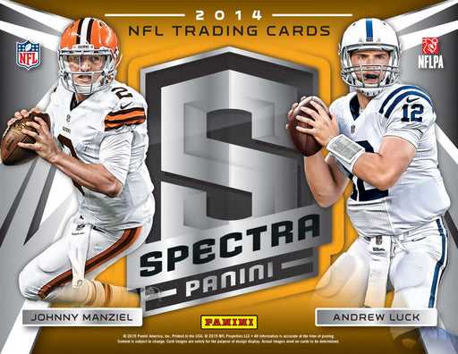 14 Spectra NFL 1-Box Break #0151 - Random Team - Jun 22 (Lunch)-Cherry Collectables