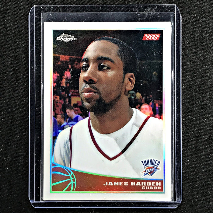2008-09 Topps JAMES HARDEN Rookie Refractor 52/500-Cherry Collectables