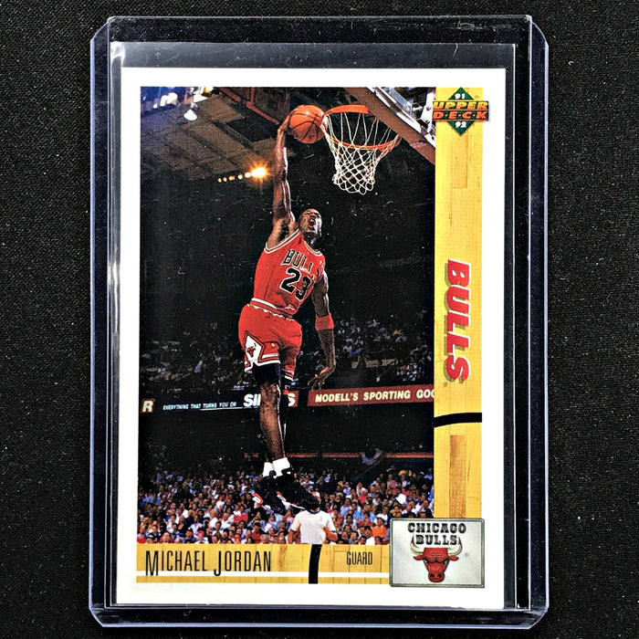 1991-92 Upper Deck MICHAEL JORDAN Bulls #1-Cherry Collectables