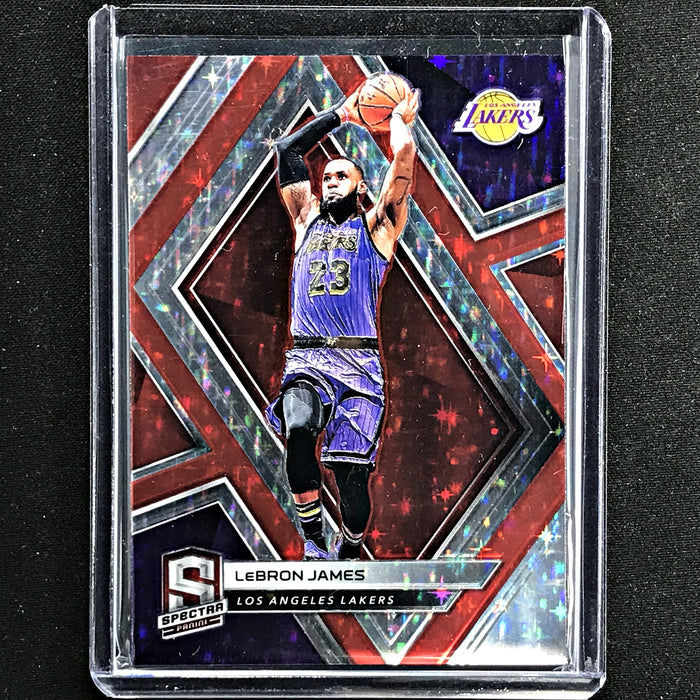 2018-19 Spectra LEBRON JAMES Red Prizm 16/99-Cherry Collectables