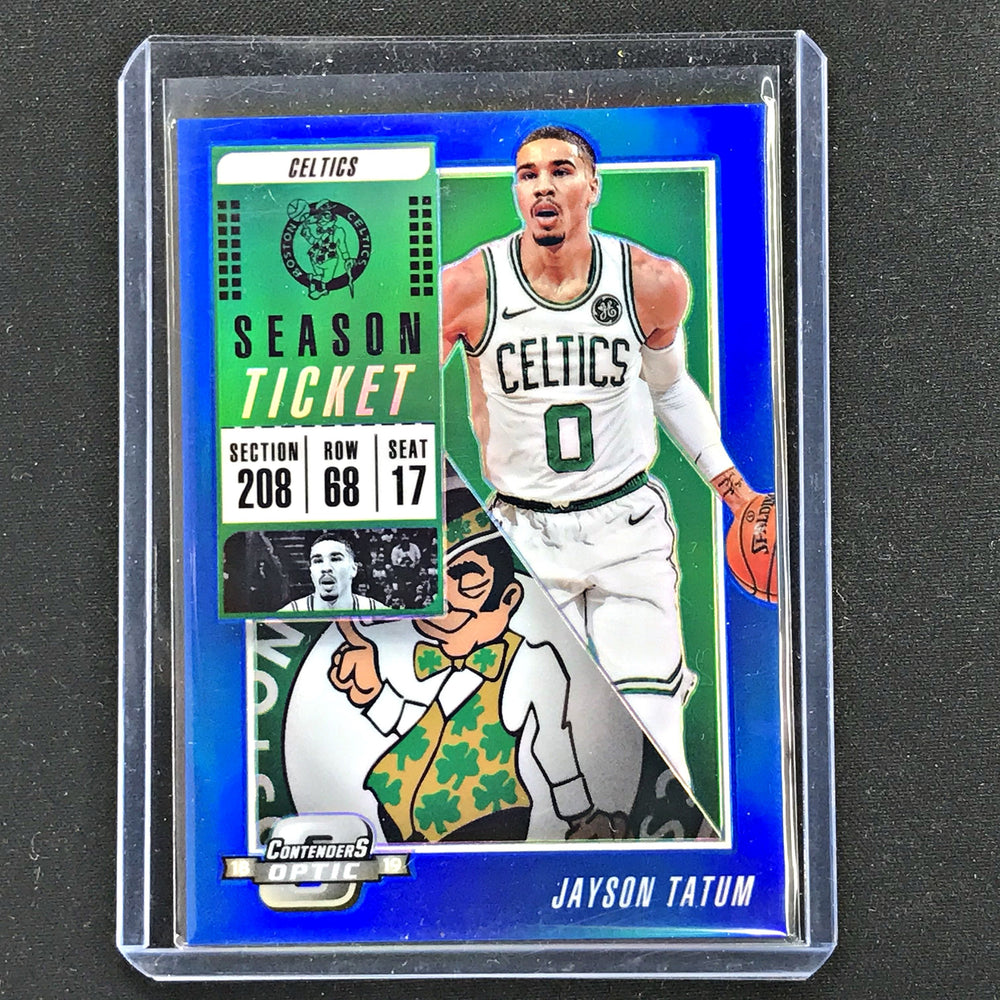 2018-19 Contenders Optic JAYSON TATUM 19/99-Cherry Collectables