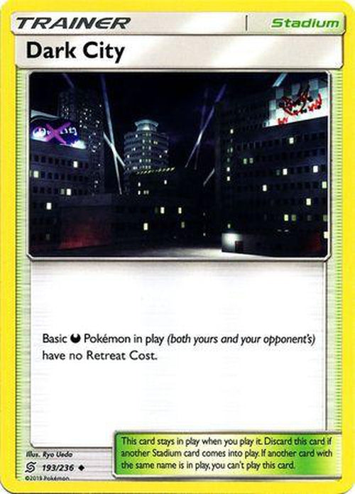 TRAINER Pokemon TCG Unified Minds 4x Unidentified Fossil 210//236
