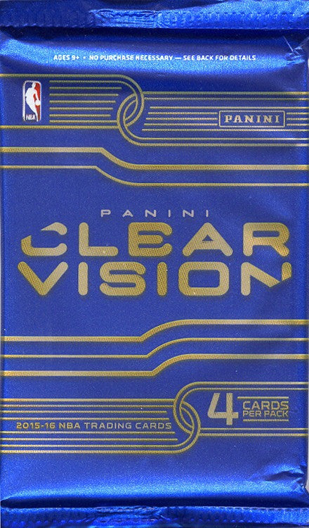 2015/16 Panini Clear Vision Basketball Hobby Pack-Cherry Collectables
