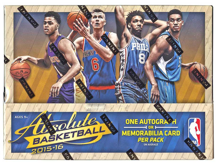 2015/16 Panini Absolute Basketball Hobby Box-Cherry Collectables