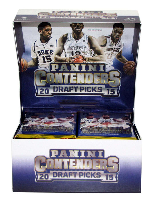 2015/16 Panini Contenders Draft Picks Basketball Hobby Pack-Cherry Collectables