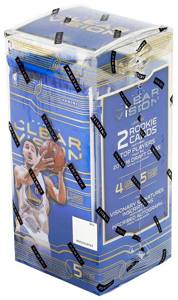 2015/16 Panini Clear Vision Basketball Hobby Box-Cherry Collectables