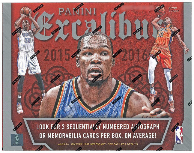 2015/16 Panini Excalibur Basketball Hobby Box - Cherry Collectables - 1