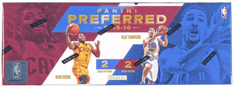 2015/16 Panini Preferred Basketball Hobby Box - Cherry Collectables - 1