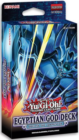 YU-GI-OH! TCG Egyptian Gods Structure Deck Slifer and Obelisk Combo (Pre Order Jun 10)-Cherry Collectables