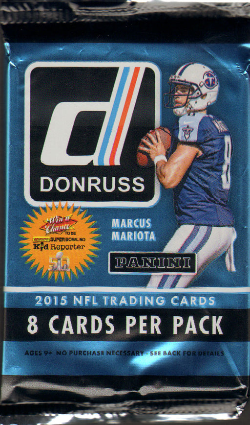 2015 Panini Donruss Preferred Football Pack-Cherry Collectables