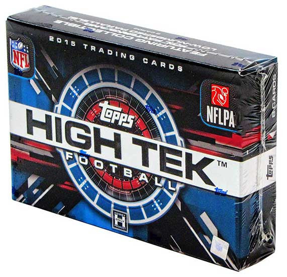2015 Topps High-Tek Football Hobby Box-Cherry Collectables