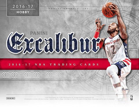 2016/17 Panini Excalibur Basketball Hobby Box (Pre Order Jun 21)-Cherry Collectables