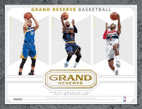 2016/17 Panini Grand Reserve Basketball Hobby Box (Pre Order Jun 28)-Cherry Collectables