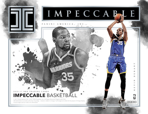 2016/17 Panini Impeccable Basketball Hobby Box (Pre Order Sep 13)-Cherry Collectables