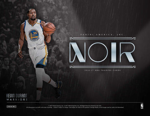 2016/17 Panini Noir Basketball Hobby Box (Pre Order Jul 12)-Cherry Collectables